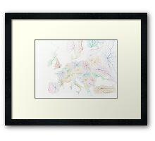 New Europe Framed Print