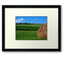 Bale of Hay Framed Print