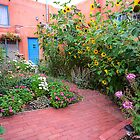 Taos Door and Garden by TheBlindHog