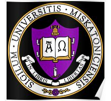 Miskatonic University Color Seal Poster