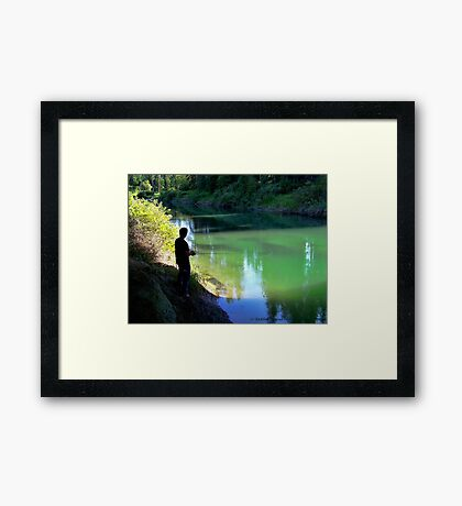 A Small Haven Framed Print