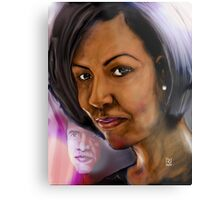 BEHIND EVERY SUCCESSFUL MAN IS A GOOD WOMAN !  Metal Print