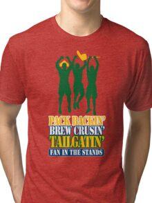 PackBackinBrewCrusin3 Tri-blend T-Shirt