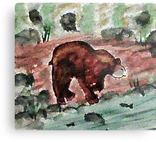 Will he be successful? watercolor Metal Print