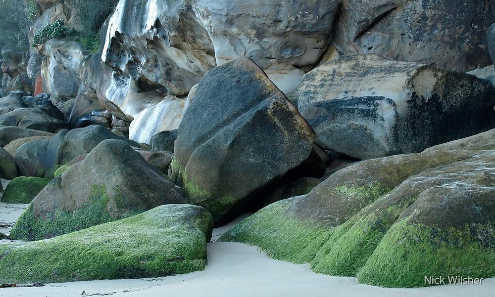 Green Rocks  by Nick Wilsher
