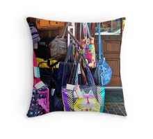 Water Street Shop - Port Townsend, Washington Throw Pillow
