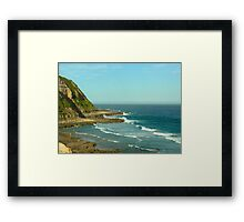 Bar Beach Seaview, NSW Framed Print