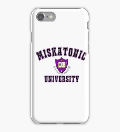 Miskatonic University Color Logo iPhone Case/Skin