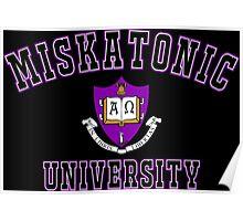 Miskatonic University Color Logo Poster