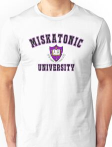 Miskatonic University Color Logo Unisex T-Shirt