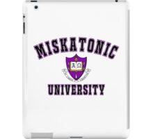Miskatonic University Color Logo iPad Case/Skin