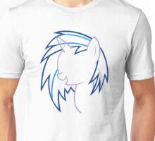 DJ VinylScratch Outline Unisex T-Shirt