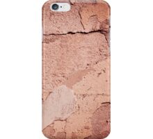 old cracked paint texture damaged wall iPhone Case/Skin