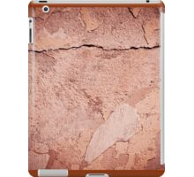 old cracked paint texture damaged wall iPad Case/Skin