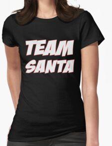 TEAM SANTA Womens Fitted T-Shirt