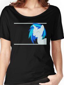 VinylScratch sillhouette Women's Relaxed Fit T-Shirt