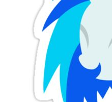 VinylScratch sillhouette Sticker