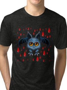 Halloween Bat Tri-blend T-Shirt