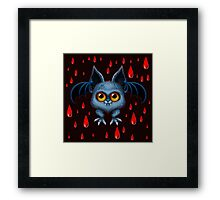 Halloween Bat Framed Print