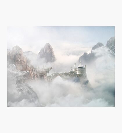 Palace of the Sky Dragons Photographic Print