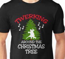 TWERKING AROUND THE CHRISTMAS TREE Unisex T-Shirt