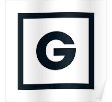 "Alphabet ""G"" Poster"