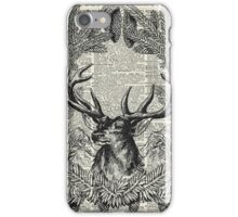 Christmas Stag,xmas gift,reindeer decor iPhone Case/Skin