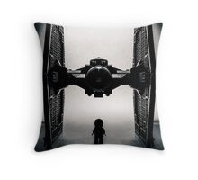Twin Ion Engine Throw Pillow