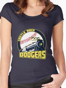 Castle Rock Dodgers Women's Fitted Scoop T-Shirt