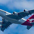 Qantas A380 by Mark  Lucey