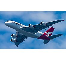 Qantas A380 Photographic Print