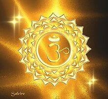 Crown Chakra by saleire