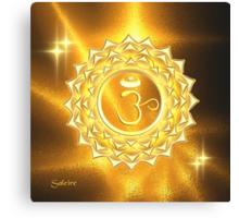 Crown Chakra Canvas Print