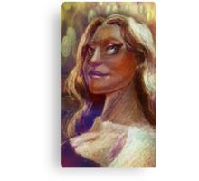 Caricature Canvas Print