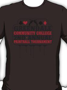 Greendale Paintball Tournament T-Shirt