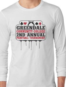Greendale Paintball Tournament Long Sleeve T-Shirt