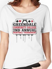 Greendale Paintball Tournament Women's Relaxed Fit T-Shirt