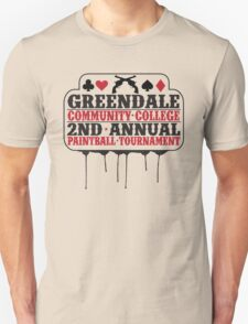 Greendale Paintball Tournament T-Shirt