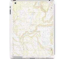 USGS Topo Map Oregon Barnes Valley 278942 1988 24000 iPad Case/Skin