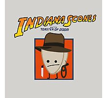 Indiana Scones & The Toaster of Doom Photographic Print
