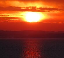 Llanelli Sunset by ollygriffin