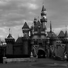 Castle In Black & White by Ron Hannah