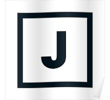 "Alphabet ""J"" Poster"