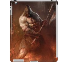 Infernal executioner iPad Case/Skin