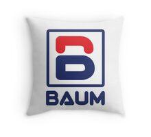 Richie Tenenbaum (Royal Tenenbaums) 'BAUM' Shirt  Throw Pillow