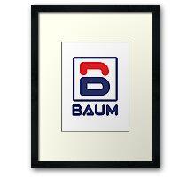 Richie Tenenbaum (Royal Tenenbaums) 'BAUM' Shirt  Framed Print