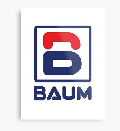 Richie Tenenbaum (Royal Tenenbaums) 'BAUM' Shirt  Metal Print