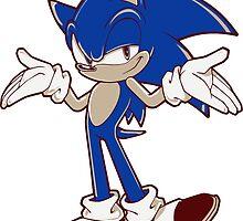 Minimalist Modern Sonic 2 by 4xUlt