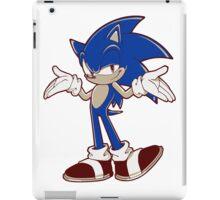 Minimalist Modern Sonic 2 iPad Case/Skin