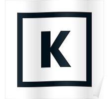 "Alphabet ""K"" Poster"